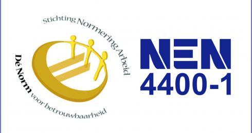 Nieuws Bericht NEN 4400-1 gecertificeerd