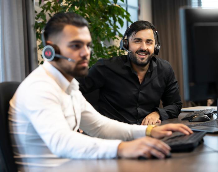 Service Desk Service & Advies Landingspagina